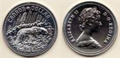 CANADA Silver Bullion DOLLAR NATIONAL PARKS 1885-1995 900 Silver 141g